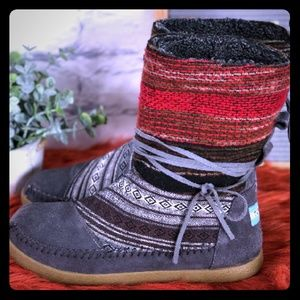 TOMS Nepal Mix Textile Winter Boots